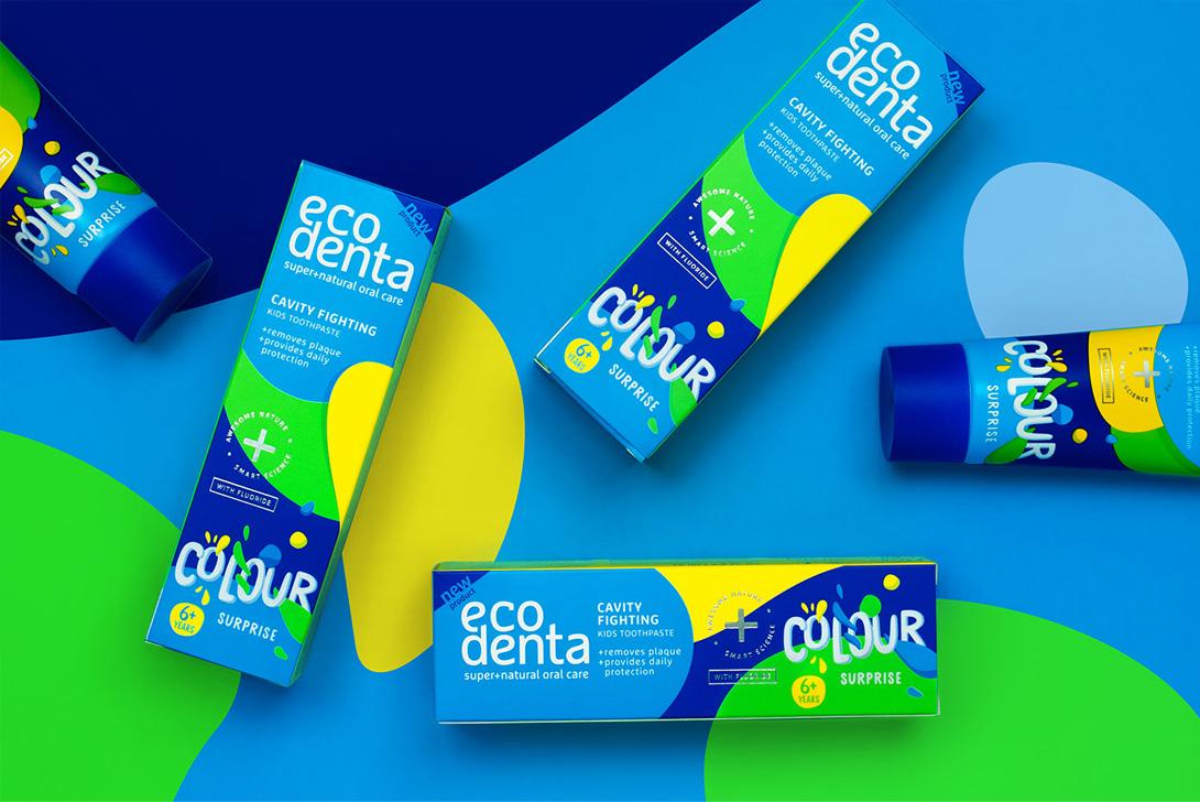 طراحی بسته بندی خمیر دندان