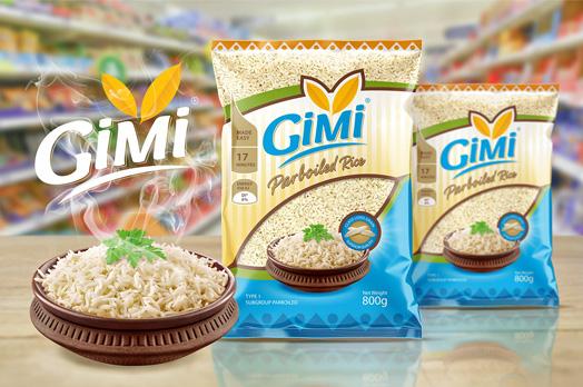 طراحی سلفون بسته بندی برنج