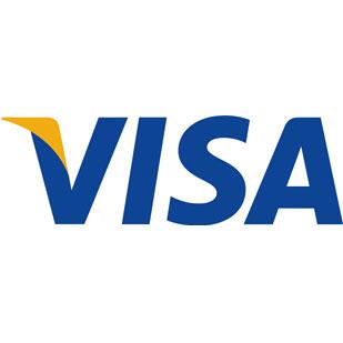 طراحی لوگو تایپ ویزا کارت