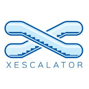 طراحی لوگو تلفیقی و ترکیبی Xescalator انگلستان توسط استودیو طراحی امپک