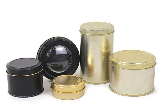 ظروف و قوطی فلزی زعفران