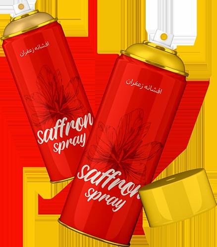 طراحی بسته بندی اسپری و افشانه زعفران